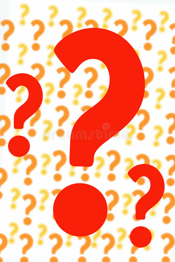 Free Questions All Around Stock Photography - 14795122
