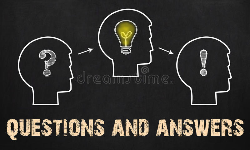 Download Questions And Answers - Group Of Three People With Question Mark Stock Photo - Image of plan, coaching: 85276538