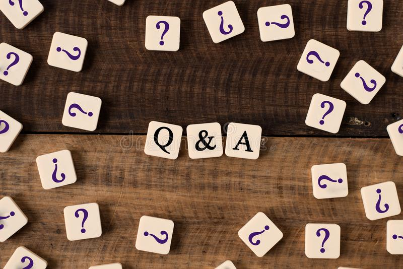 Download Questions And Answers Q&A Concept Stock Image - Image of internet, knowledge: 104675639