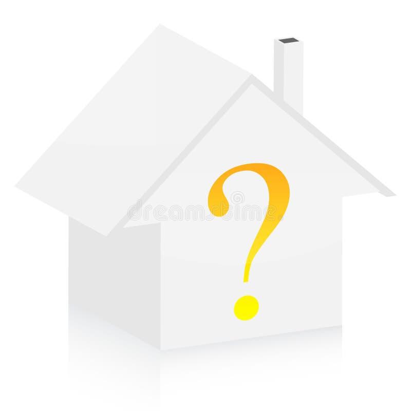 Questions de propriété illustration libre de droits