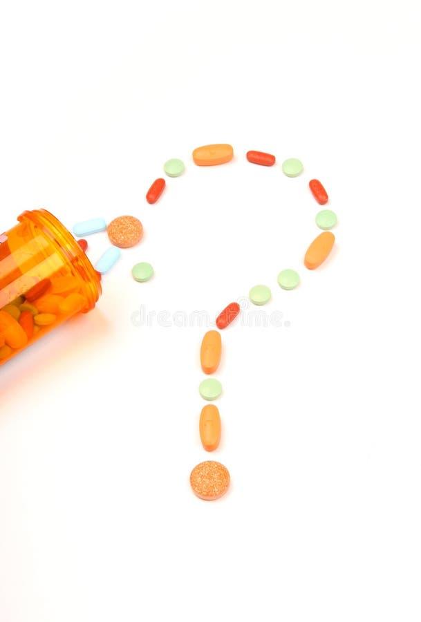 Questions médicales image libre de droits