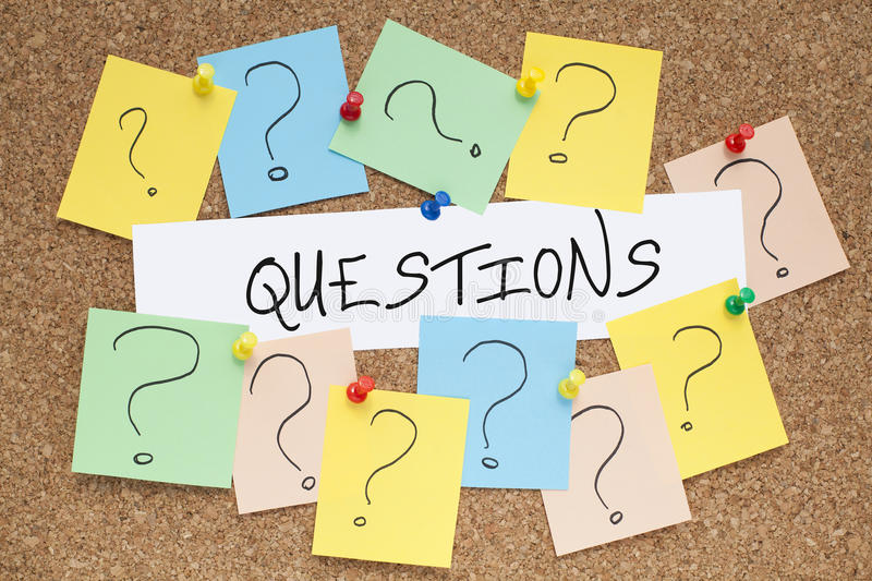 Download Questions stock image. Image of handwriting, concept - 42757133