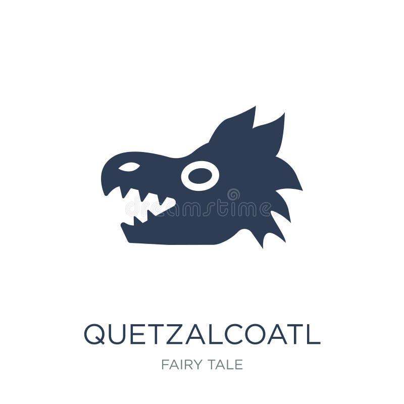 Quetzalcoatl象  向量例证