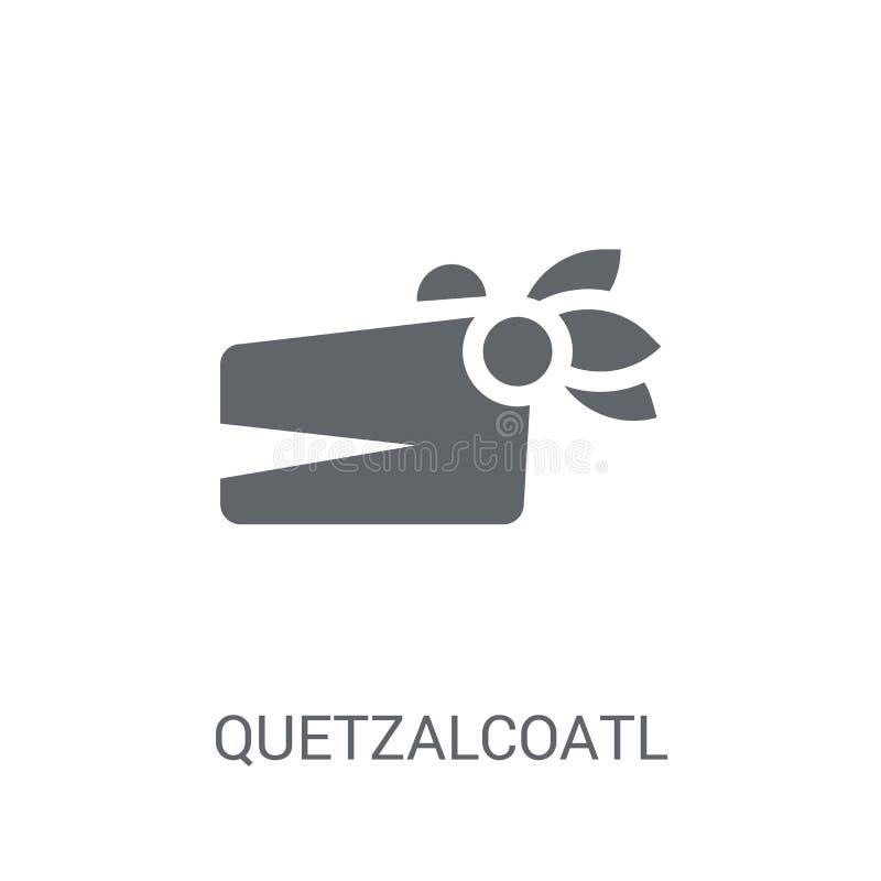 Quetzalcoatl象  皇族释放例证