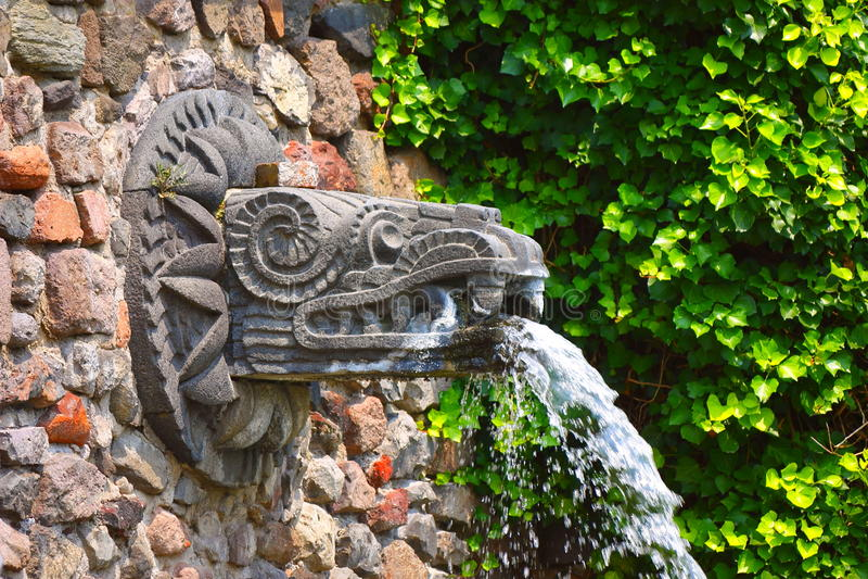 Quetzalcoatl I stockfotografie