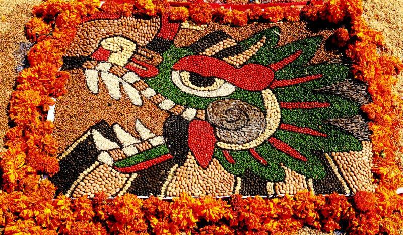 Quetzalcoatl II stockfotografie