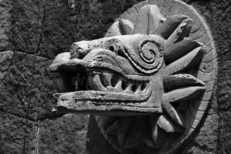 Quetzalcoatl III 库存照片