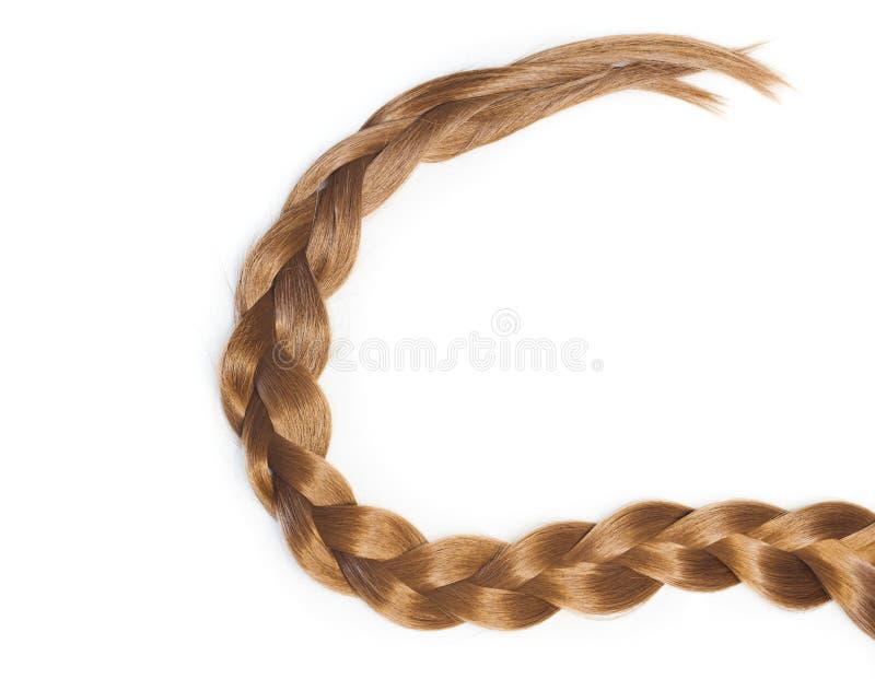 Queue de cheveux de style de poney photos stock