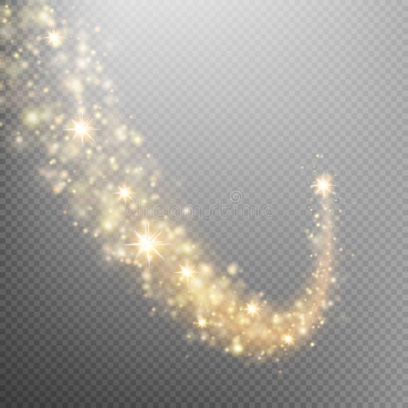 Queue de comète de l'espace ENV 10 illustration libre de droits