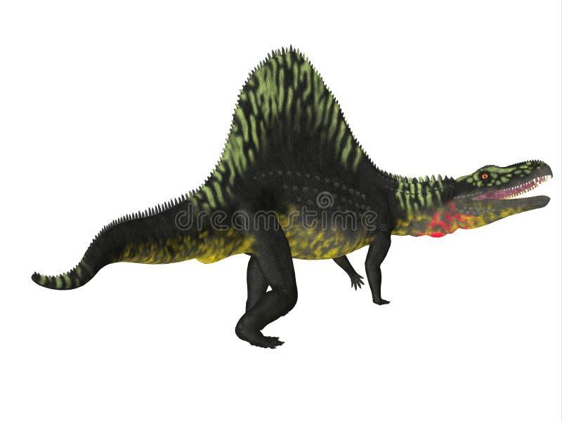 Queue de dinosaure d'Arizonasaurus illustration de vecteur