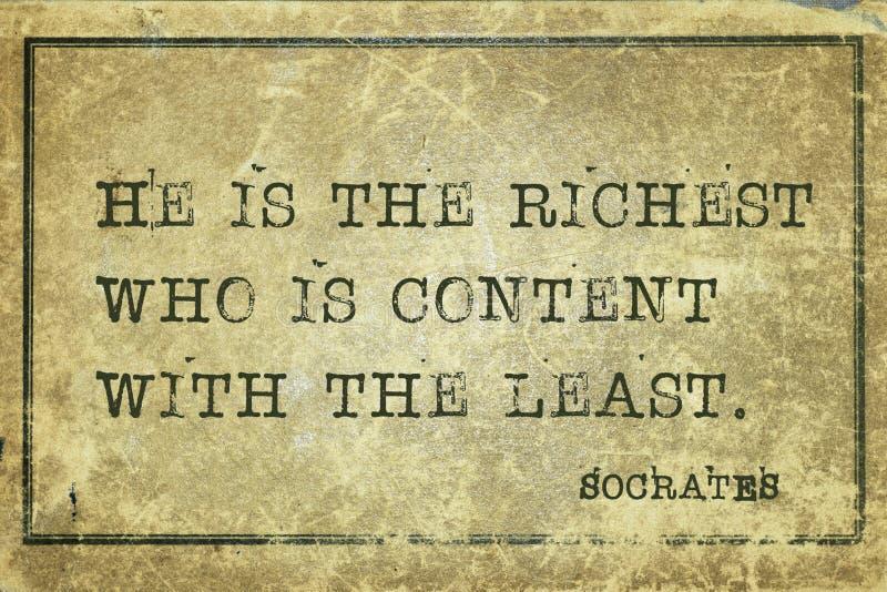 Quién es Sócrates contento imagen de archivo libre de regalías