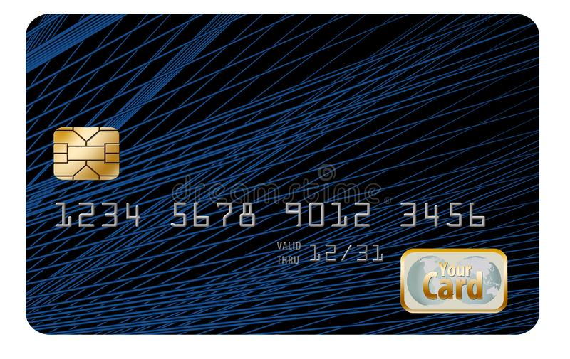 Qui è una progettazione originale del fondo, originalmente progettata come fondo della carta di credito fotografie stock