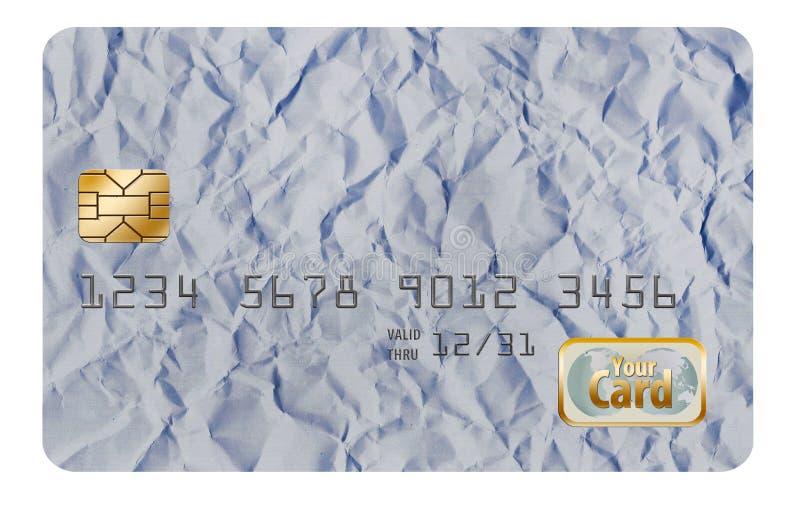 Qui è una progettazione originale del fondo, originalmente progettata come fondo della carta di credito fotografia stock