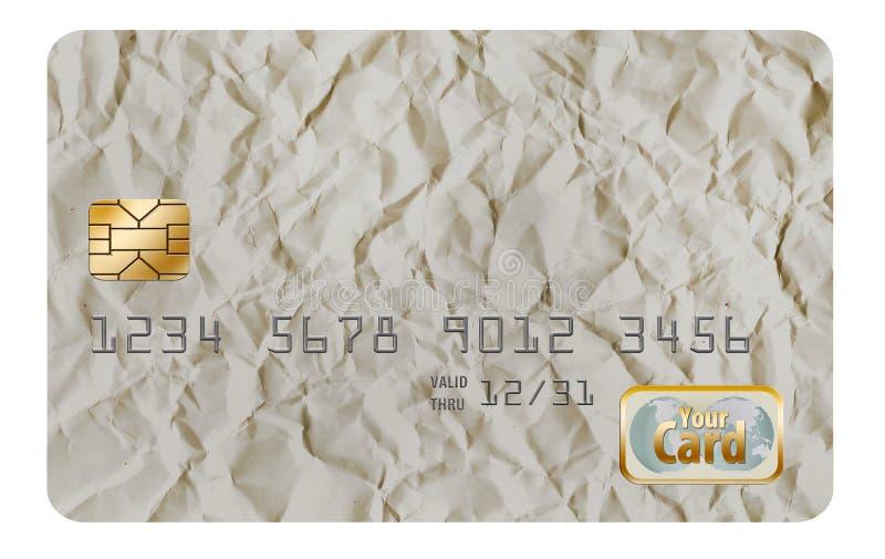 Qui è una progettazione originale del fondo, originalmente progettata come fondo della carta di credito immagine stock