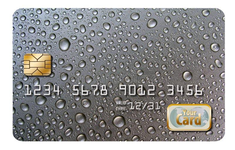 Qui è una progettazione originale del fondo, originalmente progettata come fondo della carta di credito fotografia stock libera da diritti