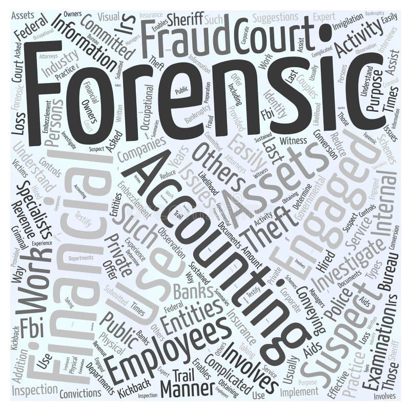 24 qui emploie le fond légal de concept de nuage de mot de comptables illustration stock