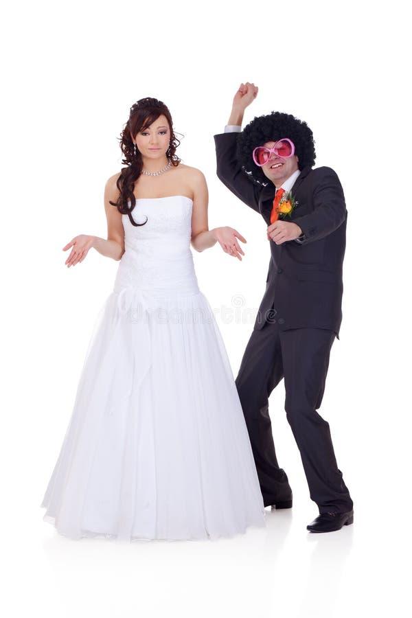 Qui est-ce que le type je me suis marié ? image libre de droits