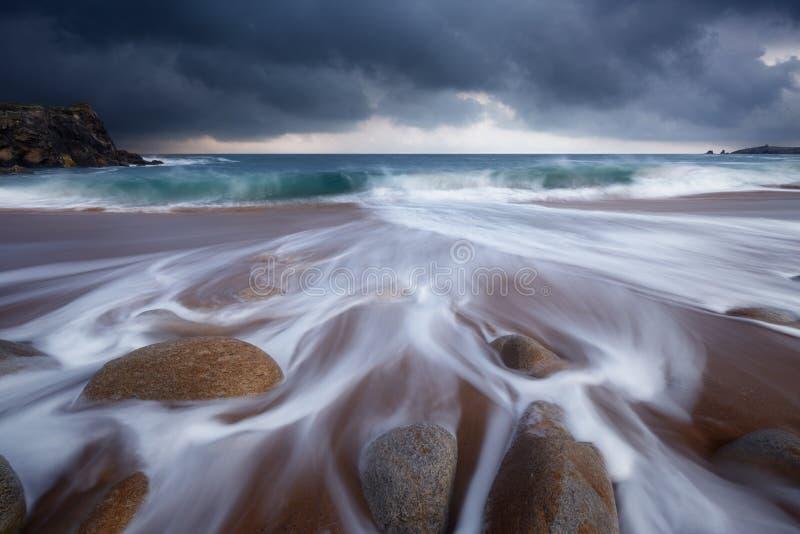 Download Quiberon-Küstenlinie In Brittany France Stockbild - Bild: 104025101