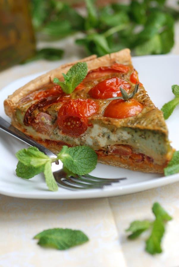 Download Quiche stock image. Image of pesto, delicious, quiche - 16993351