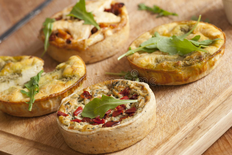 Quiche stock images