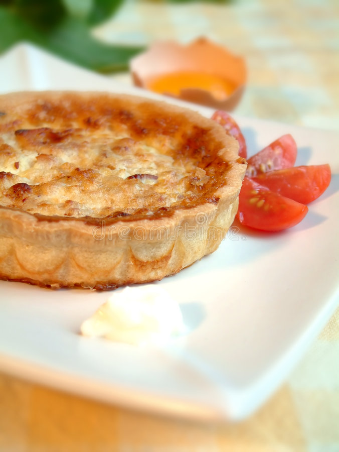 Quiche 2 fotografia stock