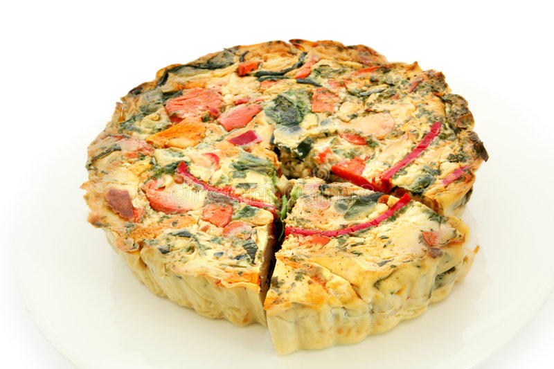 Quiche fotografia de stock royalty free