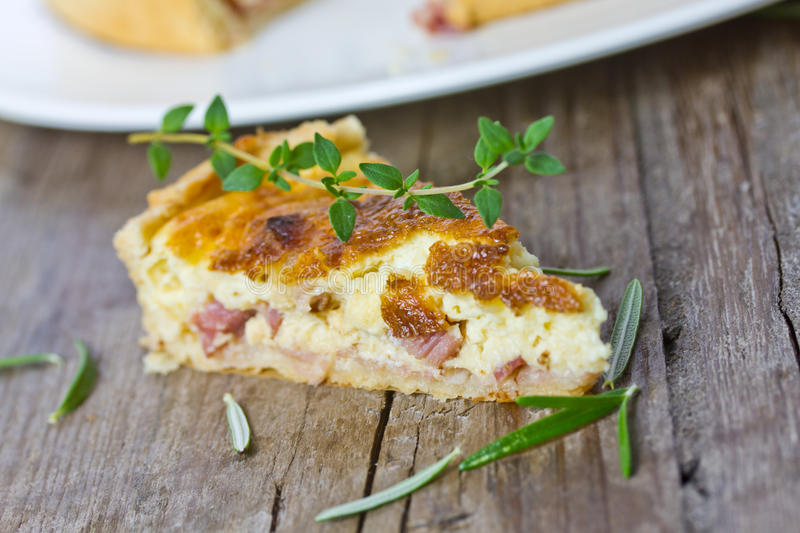 quiche immagine stock