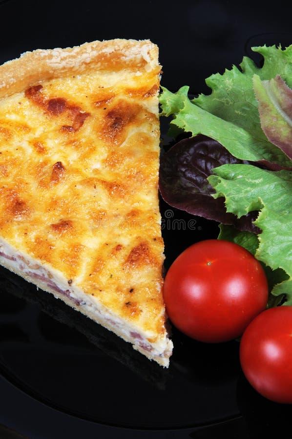 Download Quiche Lorraine Con Il Pomodoro. Fotografia Stock - Immagine di torta, pomodoro: 30829920