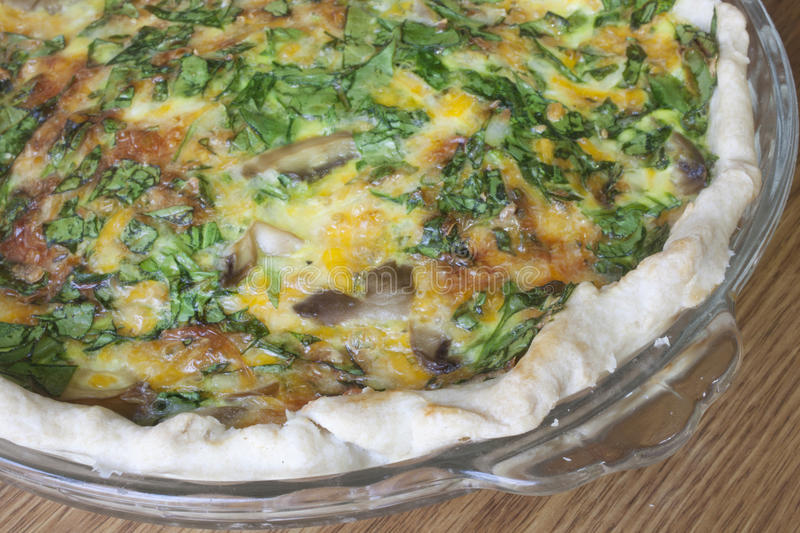 Download Quiche stock image. Image of vegetable, pastry, dinner - 37438145