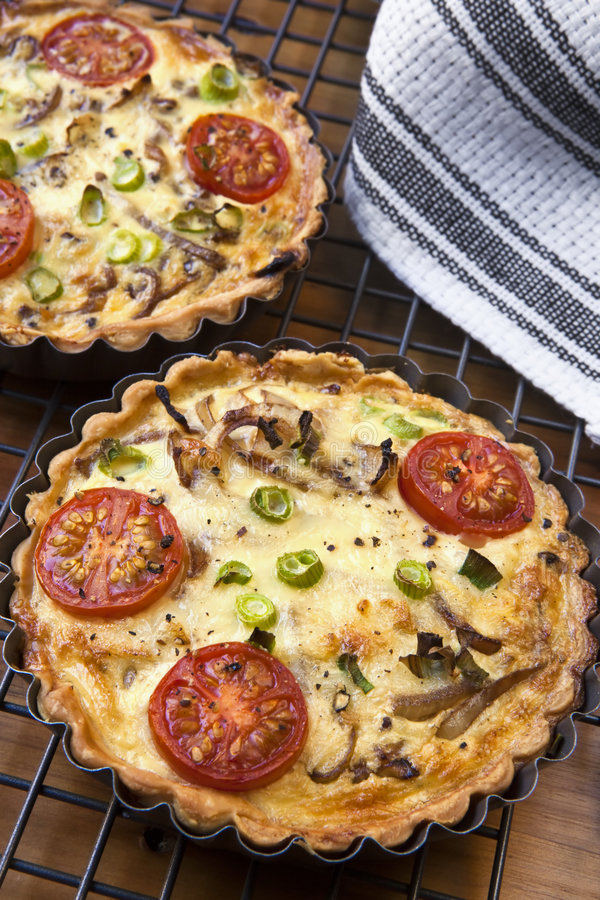 Quiches stock afbeelding