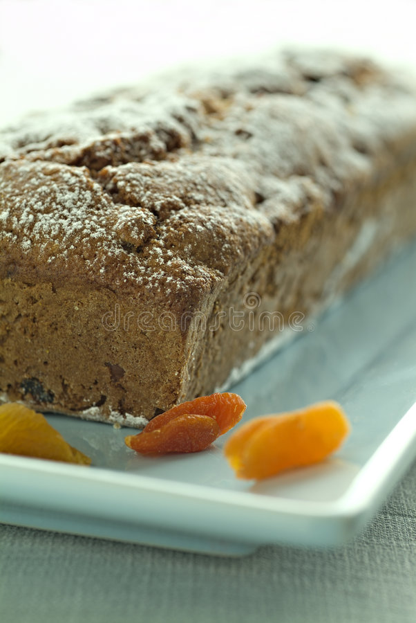Quick Bread With Dried Apricots Royalty Free Stock Photo
