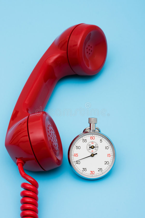 Quick Response Time royalty free stock photo