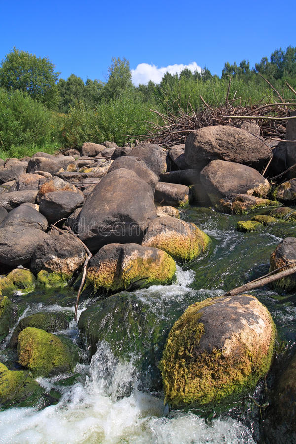 Download Quick river flow stock image. Image of environment, long - 21682317
