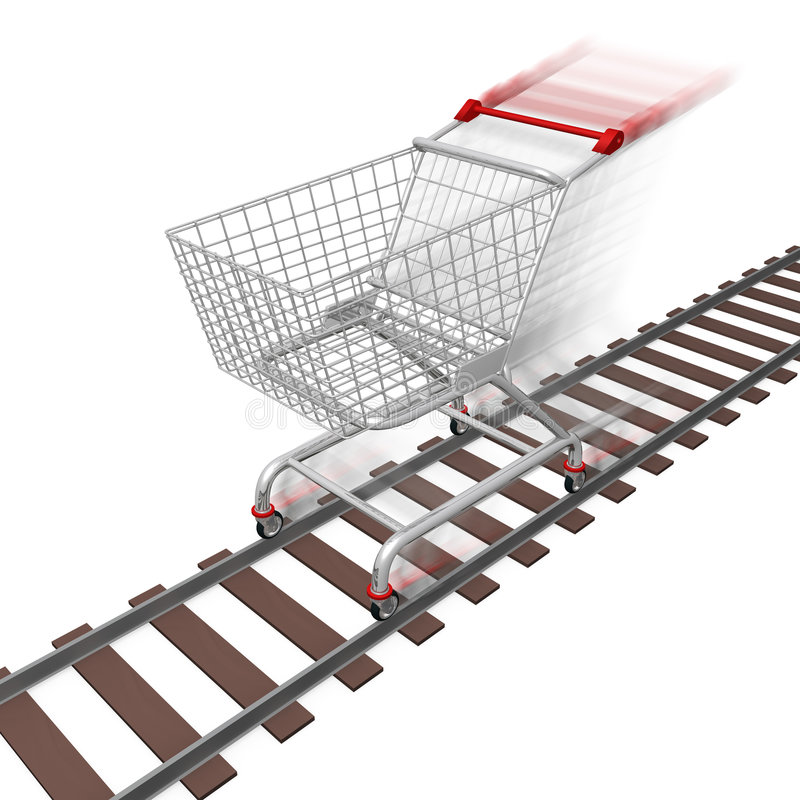 Download Quick Shopping Royalty Free Stock Photography - Image: 5062557