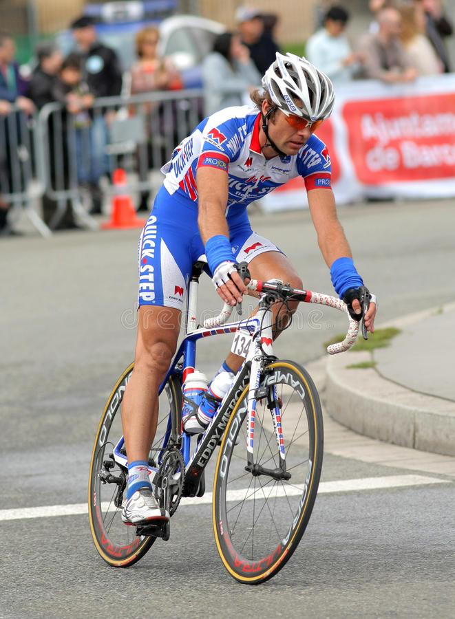 Quick Step S Cyclist Dutch Addy Engels Editorial Photography