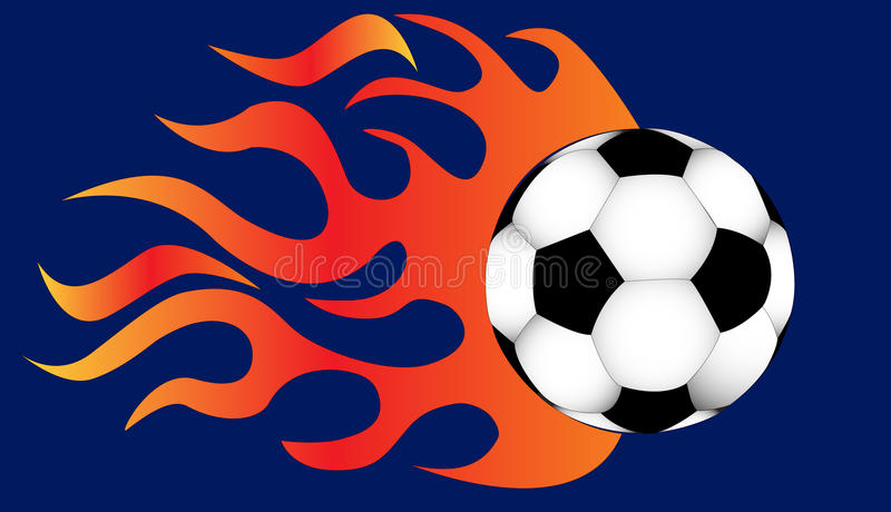 Download Quickly Flying Ball Fire For Him Stock Vector - Illustration: 23259517
