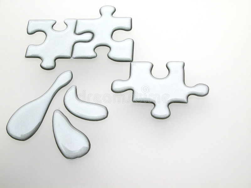 quicksilver головоломки иллюстрация штока