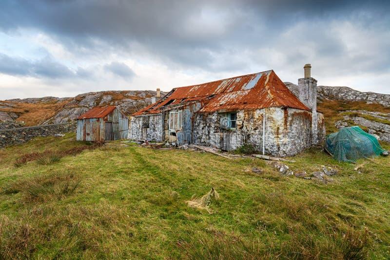 Quidnish auf der Insel von Harris stockfoto