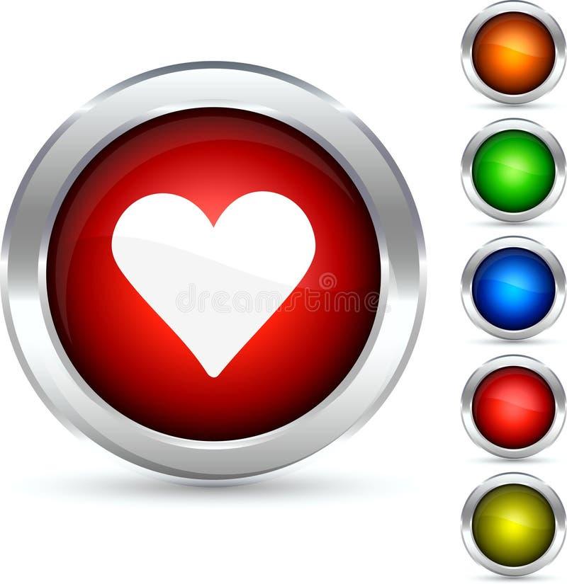 Quiera el botón. libre illustration