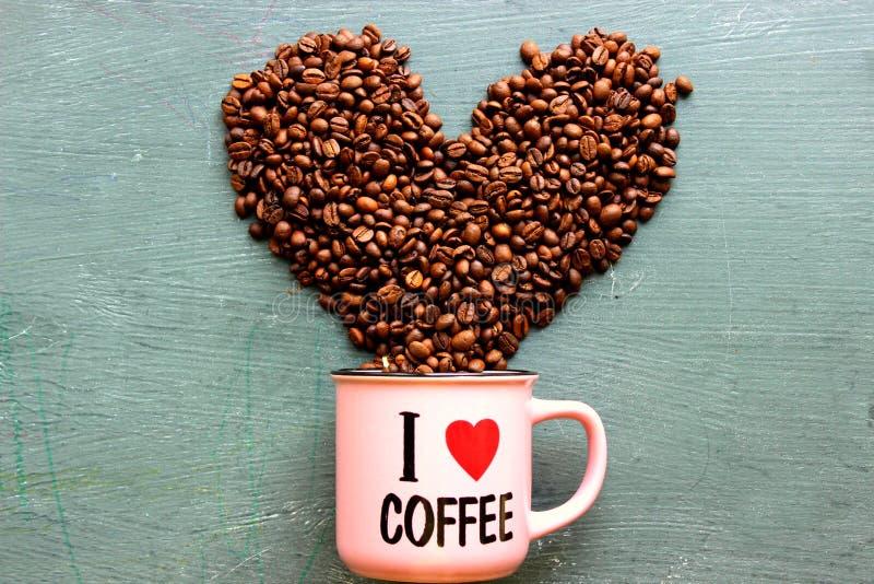 Quiero el caf? foto de archivo