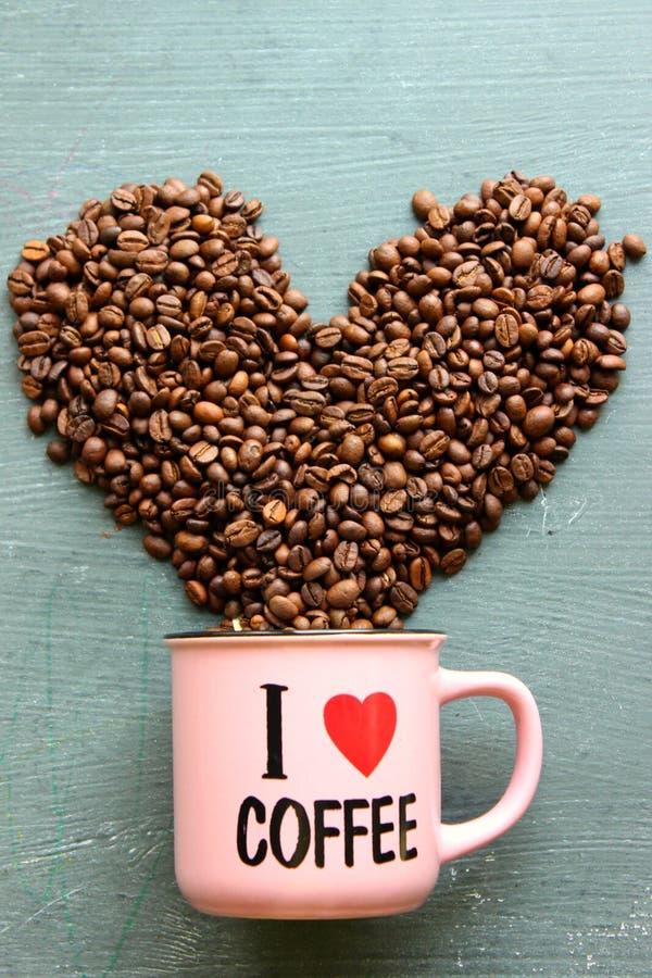 Quiero el caf? imagen de archivo