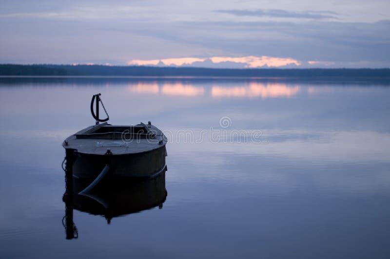 Quiet bleu. photos libres de droits
