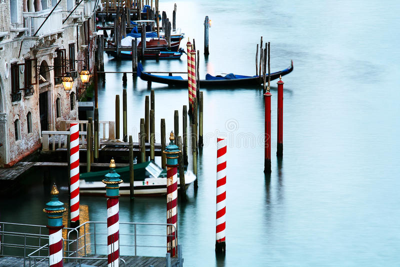 Download Quiet canal in Venice stock image. Image of citta, love - 18003841