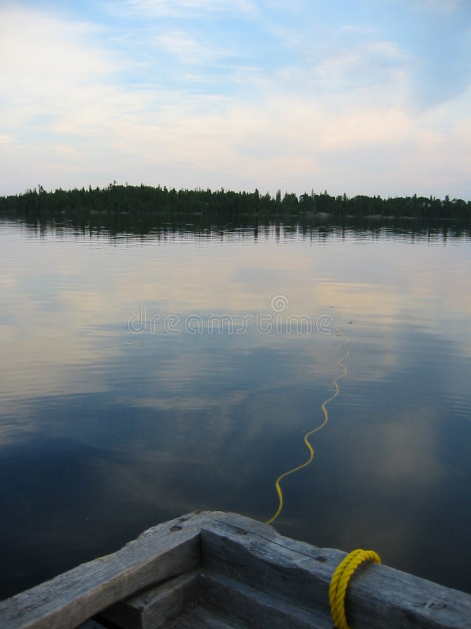 Download Quiet Lake stock photo. Image of clouds, trees, maritime - 157646