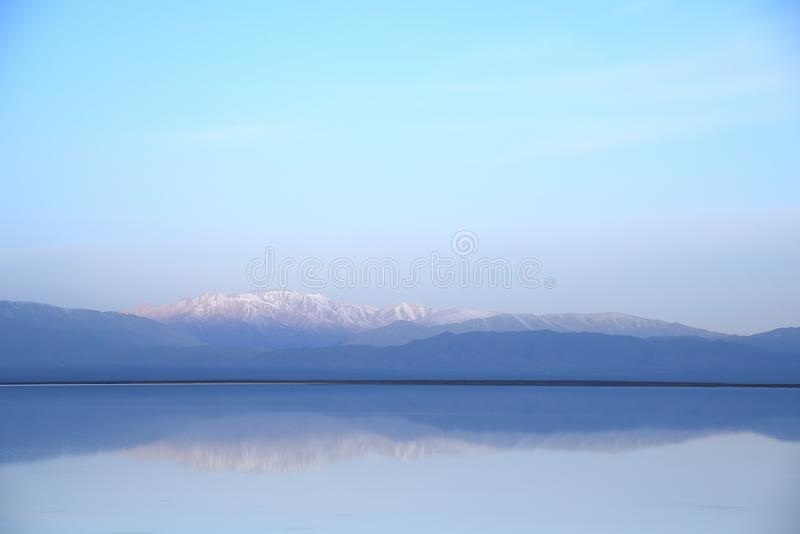 Quiet lake in the morning royalty free stock images