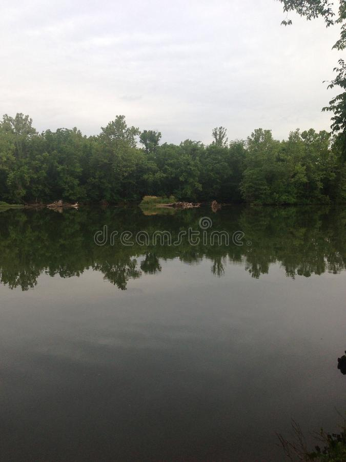 Quiet lake stock images
