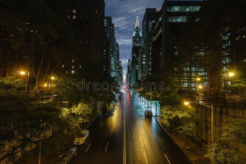 Quiet Night stock image