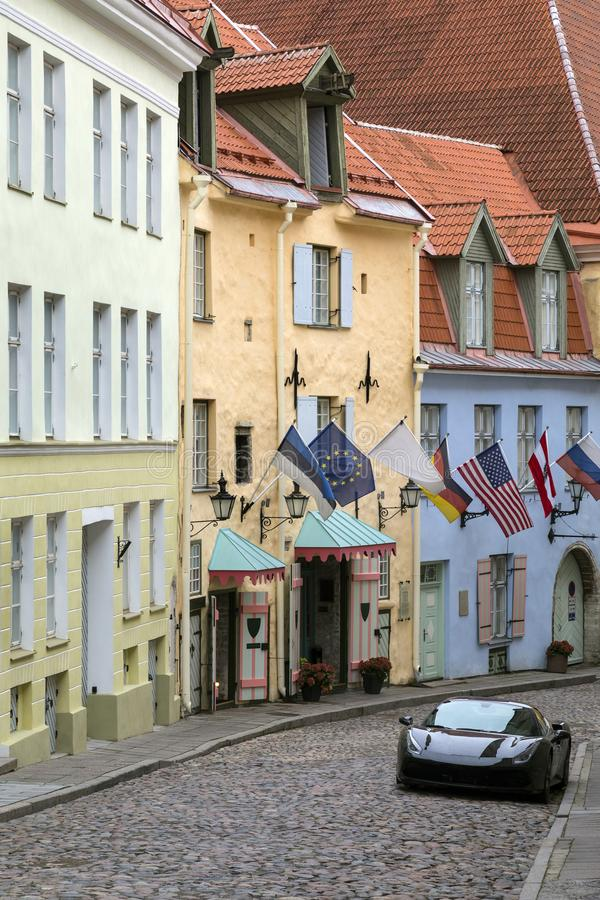 The Old Town - Tallinn - Estonia stock photo