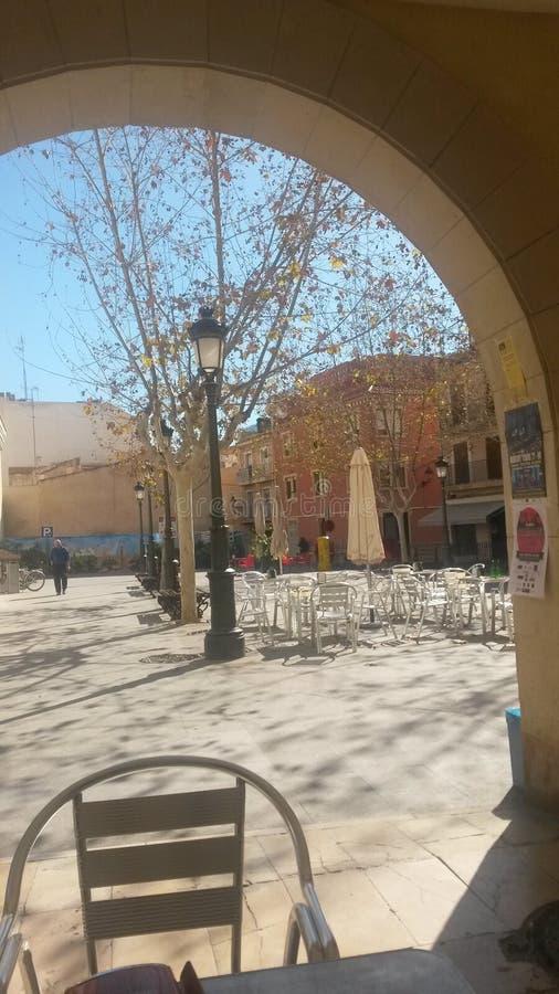 Spanish square stock photo