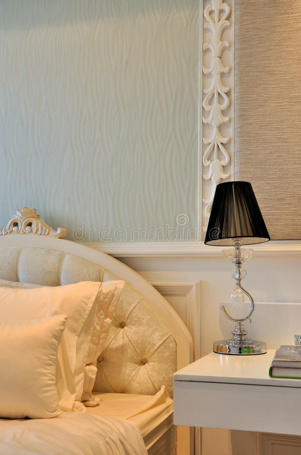 Download Quietly And Elegant Bedroom Detail Stock Photo - Image: 21058052